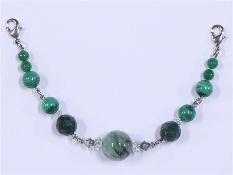 羽織り紐 男物  hh-65 天然石・翡翠(ひすい)