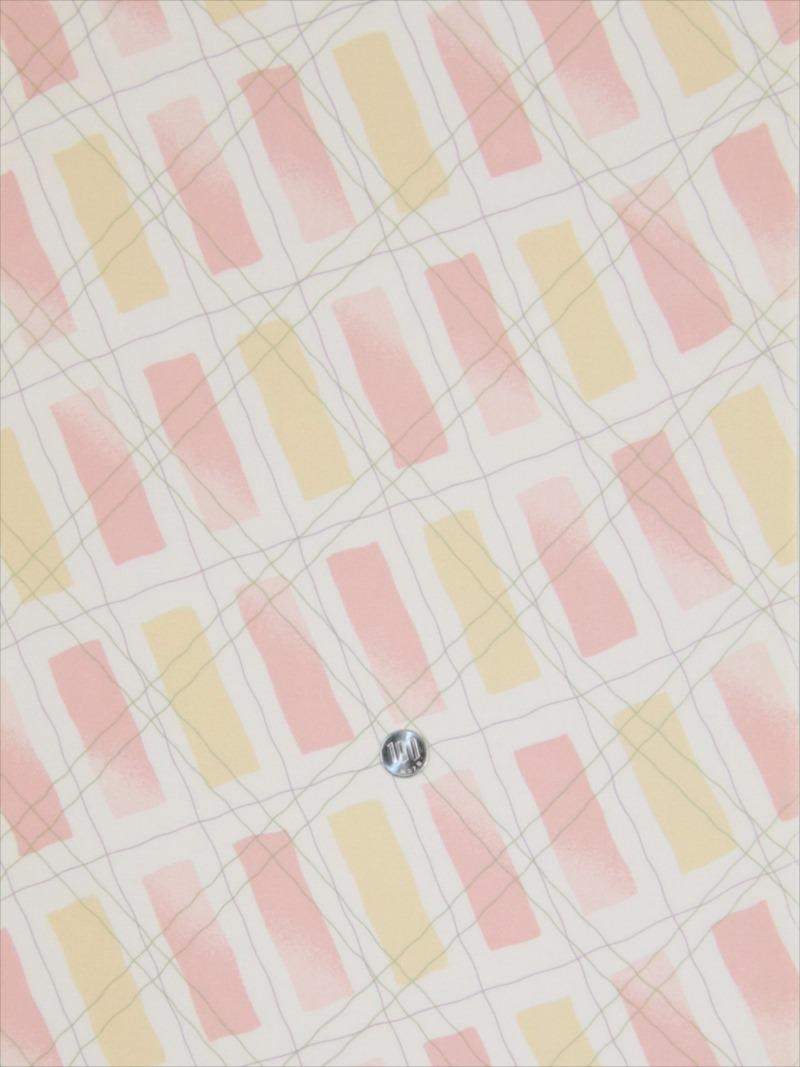 羽裏 正絹 hu-53 アイボリー地・短冊柄