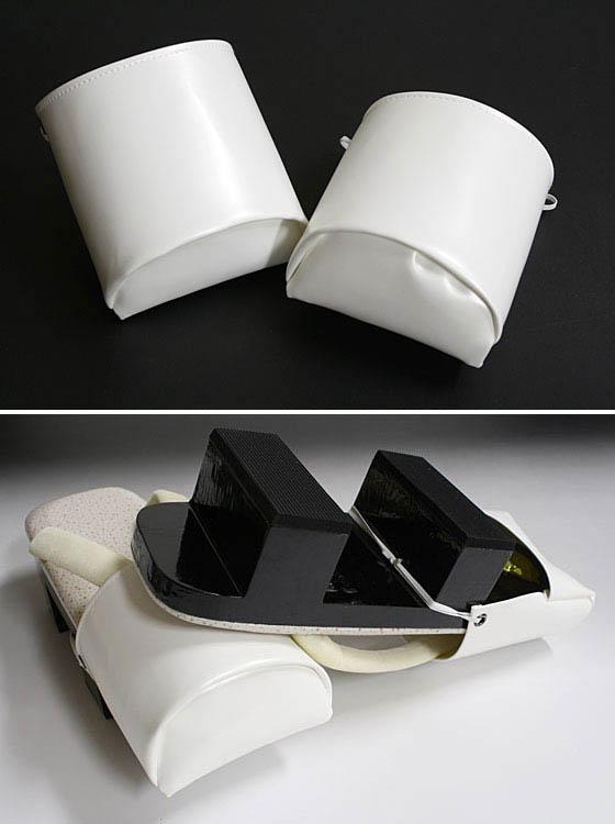 To geta shoe cover white wintering (vamps) ◆ dayflower original ◆