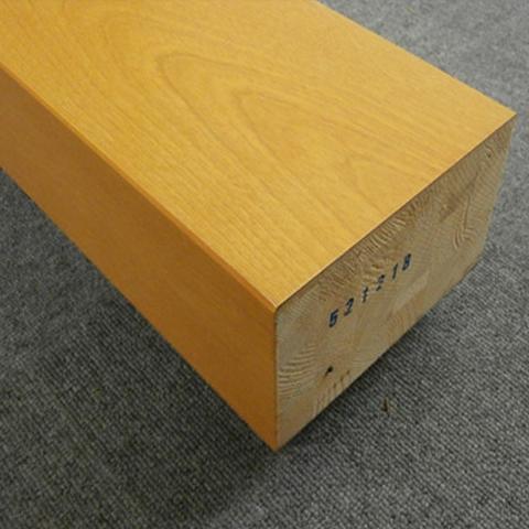 送料無料【アウトレット特価】上り框(かまち) BA4546ST 90×150×1950 カバ突板 ソフト 18Kg
