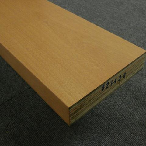 送料無料【アウトレット特価】リフォーム用玄関巾木 BH3546LT 30×150×1950 カバ突板 ライト