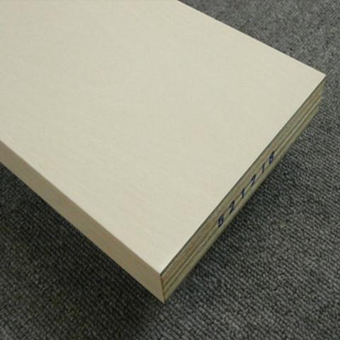 送料無料【アウトレット特価】リフォーム用玄関巾木 BH3546PL 30×150×1950 カバ突板 パールホワイト