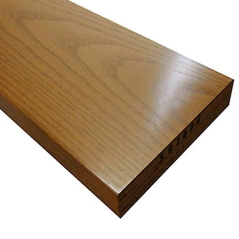 送料無料【アウトレット特価】リフォーム用玄関巾木 BH3559CB 30×150×2950 オーク突板 クリアーブラウン 10kg