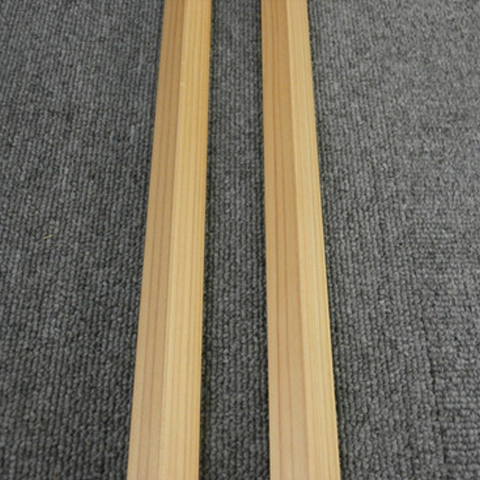 【お取り寄せ商品】桧 出隅 H-DSM-H-J-5S(A品)桧無垢材クリアー塗装 20×1950×20 5枚セット