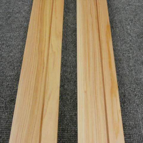 【お取り寄せ商品】桧 巾木 H-HBG-H-J-18-5S(A品)桧無垢材 クリアー塗装 60×1950×18 5枚セット