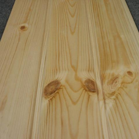 【お取り寄せ商品】レッドパイン 羽目板 H-HMIT-R-I(A品)レッドパイン無垢材 UV塗装 節あり(16枚入り) 110×1920×12