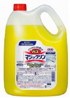 現品 日本限定 ケース売 花王業務用バスマジックリン4.5L×4