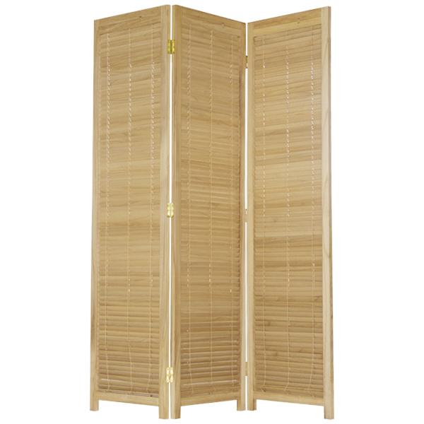【大型商品】 木製スクリーンJP-LB3-NA