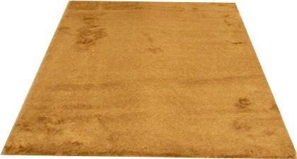 フェイクファーラグファング200×250ブラウン