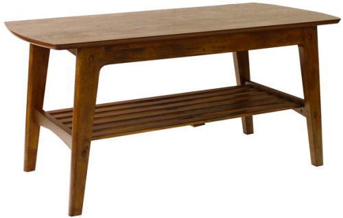 木製センターテーブル2段105幅yama82752roojii