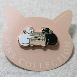 Pottering cat ★ cat pins Gramophone (CAT cat goods)
