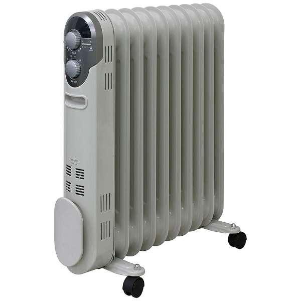 送料無料 山善 オイルヒーター 高価値 1200 700 500W 期間限定送料無料 3段階切替式 W 24時間入切タイマー付 ホワイト DO-TL124 温度調節機能付