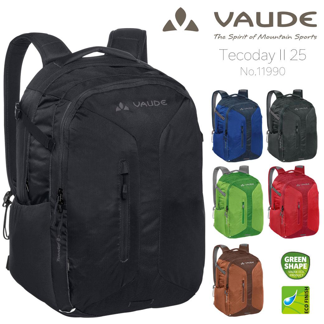 バックパック リュック メンズ VAUDE ファウデ 11990 リュックサック デイパック 25L ポリエステル 撥水 登山 ノートPC対応 大容量 アウトドア 軽量 通勤バッグ プレゼント ギフト ブランド ランキング