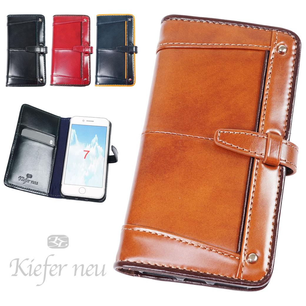 iPhone8 ケース 手帳型 iPhone6s iPhone7 メンズ Kiefer neu キーファーノイ Ciao チャオ 本革 小物 スマホケース kfn1686c プレゼント ギフト ブランド ランキング