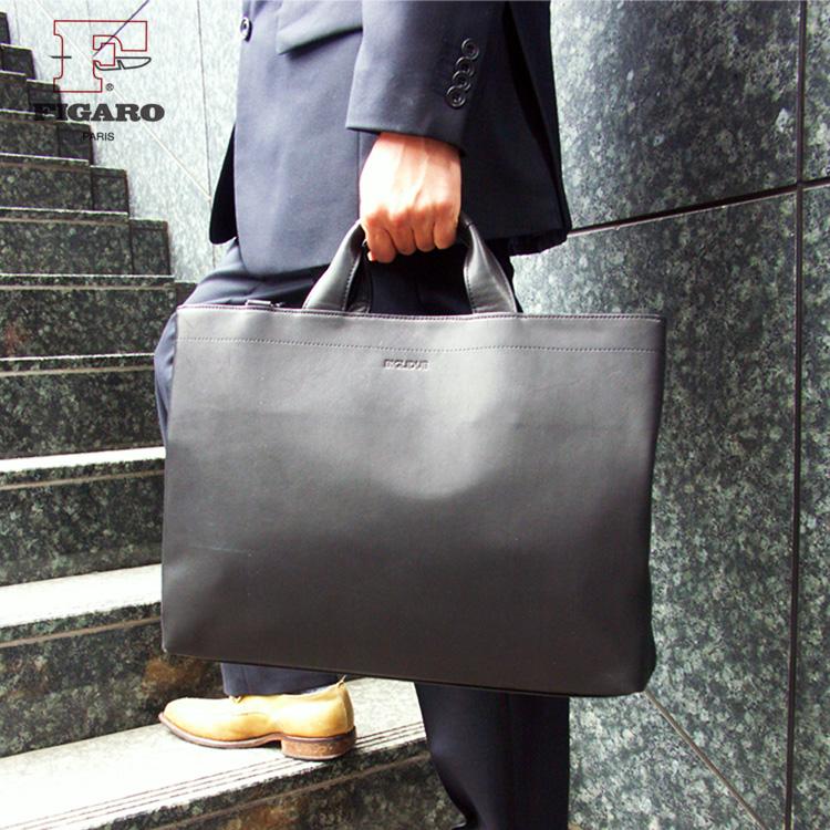 【店内全品送料無料】ビジネスバッグ メンズ 軽量 ブリーフケース FIGARO フィガロ Bis ビス 本革 牛革 2WAY 3ルーム B4 ショルダーバッグ ショルダー付 日本製 メンズバッグ 斜めがけ バッグ プレゼント ブランド 通勤バッグ 送料無料 business bag men's