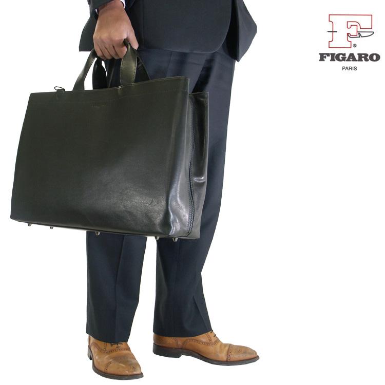 ビジネスバッグ メンズ ブリーフケース FIGARO フィガロ Bis ビス 本革 牛革 2WAY 3ルーム B4 横型 ショルダーバッグ ショルダー付 三方開き 日本製 メンズバッグ 斜めがけ バッグ プレゼント 鞄 かばん カバン bag 通勤バッグ 送料無料 ブランド business bag men's