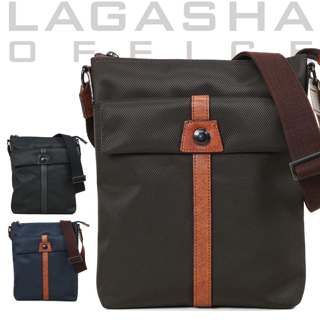 ショルダーバッグ ビジネスバッグ メンズ Lagasha ラガシャ MOVE ムーブ 通勤 通学 斜めがけバッグ 肩がけ メンズバッグ 通勤バッグ 日本製 7142 プレゼント ギフト ブランド ランキング