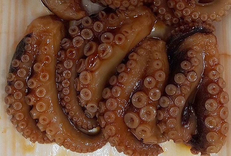 松葉蛸やわらか煮 固形約750g(40入り)×12p(P2540円税別)業務用 ヤヨイ