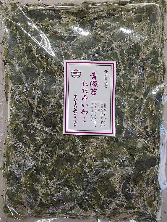 国産 青海苔 たたみいわし 3枚 ( 約19.5×14cm )×30P(P740円税別)業務用 ヤヨイ