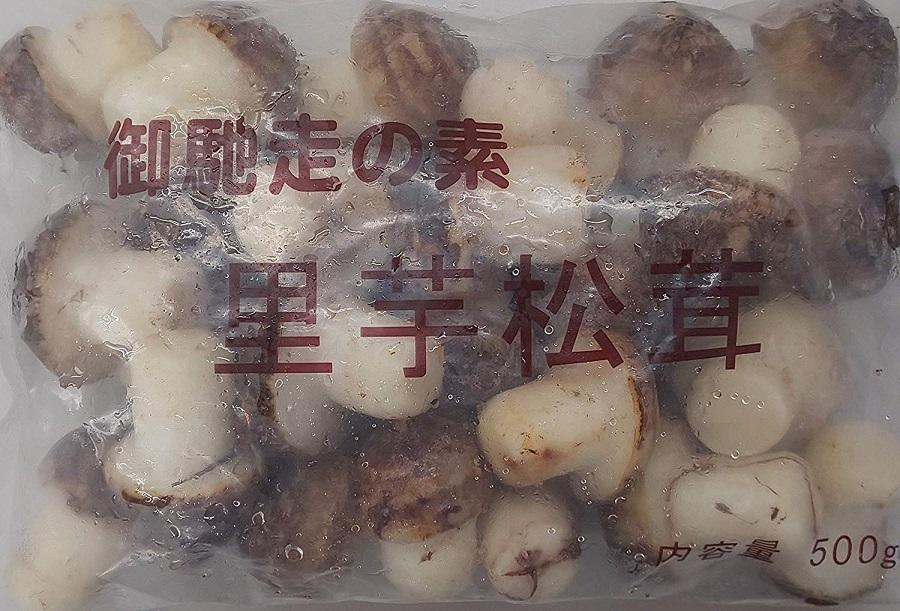 中国産 里芋松茸 500g(25個)×20P(P640円税別) 業務用 冷凍