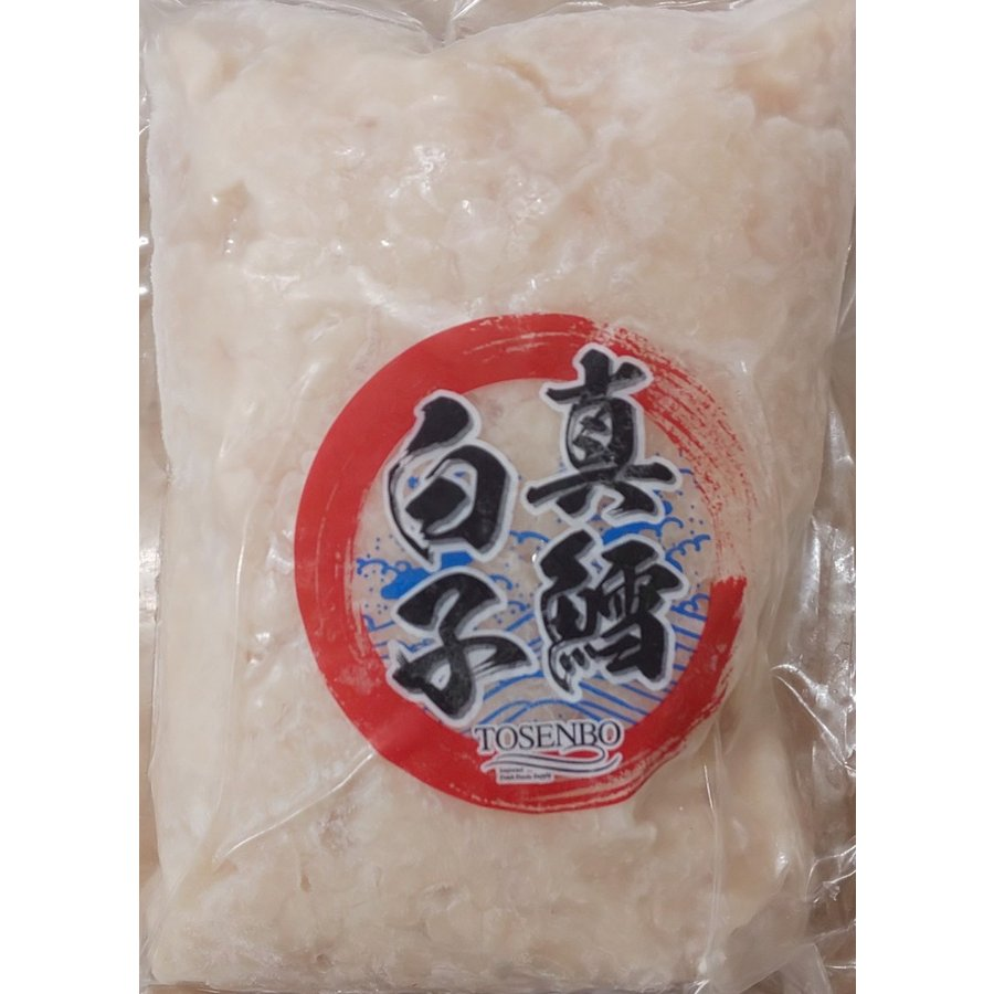 激安 アメリカ産 真鱈白子 500g×24P(P1200円税別)加熱用 業務用 ヤヨイ