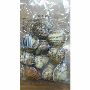 両貝ボイル蛤殻付 500g(約12~16個)x20p(P650円税別)業務用 ヤヨイ はまぐり ハマグリ