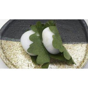 冷凍和菓子 かしわ餅 20個(個50g)x12P(P1050円税別)冷凍 業務用 ヤヨイ