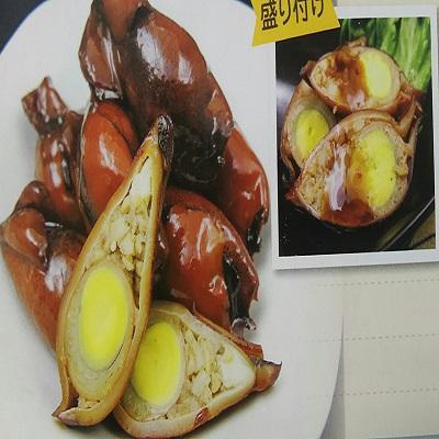 味付ヤリイカ玉子 1p(約45ヶ入)×12P(P2685円税別)業務用 冷凍 ヤヨイ