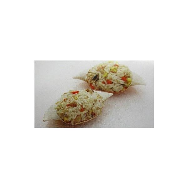 カニの旨み 海鮮入り 渡り蟹おこわ 8個 個約50g ヤヨイ 業務用 ラススーパーフライ 送料無料/新品 P800円税別 ×24P 人気