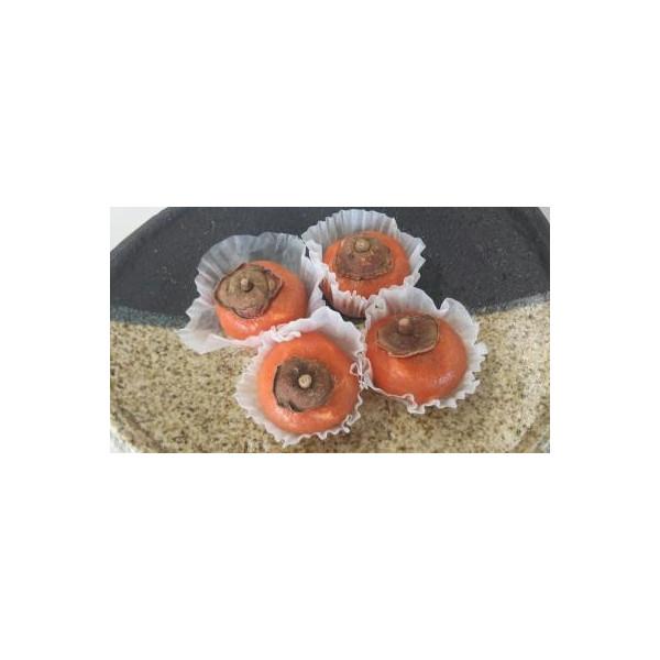 冷凍和生 くず餅(柿クリーム)20個(個29.5円税別)x28p(p590円税別)業務用 ヤヨイ