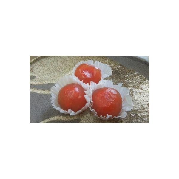 和生菓子 ミニ葛餅トマト 20個(個25円)x28p(p500円税別)業務用 ヤヨイ
