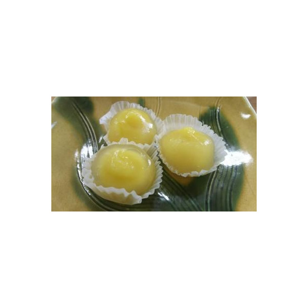 和生菓子 ミニ葛餅(栗)20個(個26円)x28p(p520円税別)業務用 ヤヨイ