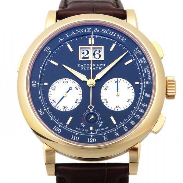 ランゲ&ゾーネ A.LANGE & SOHNE ダトグラフ アップダウン 405.031 ブラック文字盤 メンズ 腕時計 【新品】