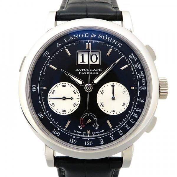 ランゲ&ゾーネ A.LANGE & SOHNE ダトグラフ アップダウン 405.035 ブラック文字盤 メンズ 腕時計 【新品】