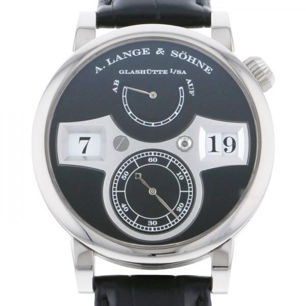 メンズ ツァイトヴェルク ブラック文字盤 【中古】 A.LANGE&SOHNE その他 140.029 ランゲ&ゾーネ 腕時計 LS1403AD