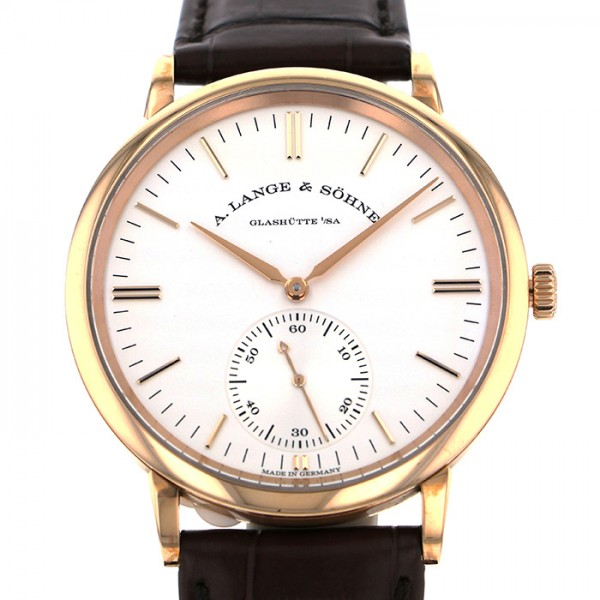 ランゲ&ゾーネ A.LANGE & SOHNE サクソニア オートマティック 380.033 シルバー文字盤 メンズ 腕時計 【新品】