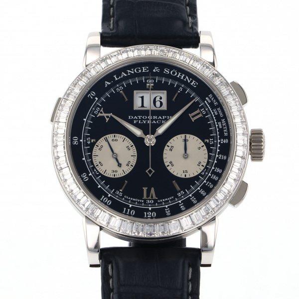 ランゲ&ゾーネ A.LANGE & SOHNE ダトグラフ バケットダイヤ 815.036 ブラック文字盤 メンズ 腕時計 【中古】