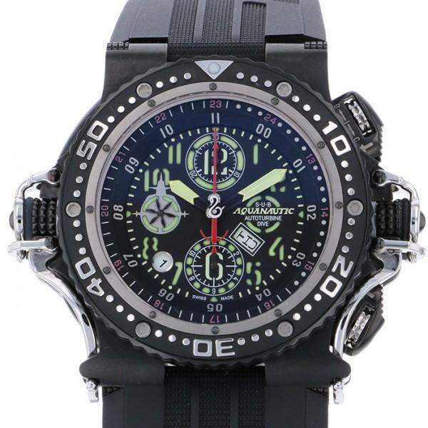 【売れ筋】 アクアノウティック 腕時計 AQUANAUTIC メンズ スーパーキング スーパーキング SK2202YNE02R ブラック文字盤 新古品 腕時計 メンズ, 【文具の月島堂】:868b00f9 --- baecker-innung-westfalen-sued.de