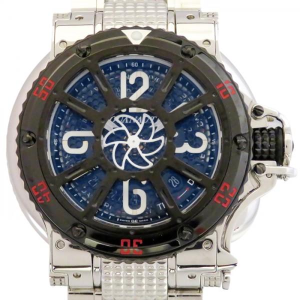 アクアノウティック AQUANAUTIC キングサブコマンダー KSP00NWNCM00S00 ブラック文字盤 メンズ 腕時計 【新品】