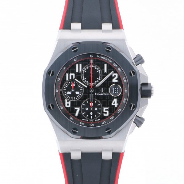 オーデマ・ピゲ AUDEMARS PIGUET ロイヤルオークオフショア クロノグラフ 26470SO.OO.A002CA.01 ブラック文字盤 メンズ 腕時計 【未使用】