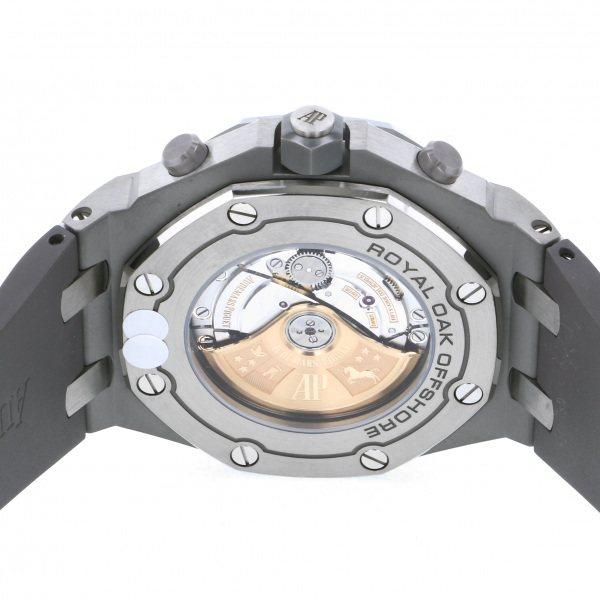 オーデマ・ピゲ AUDEMARS PIGUET ロイヤルオークオフショア クロノグラフ 26470IO.OO.A006CA.01 グレー/シルバー文字盤 メンズ 腕時計 【新品】