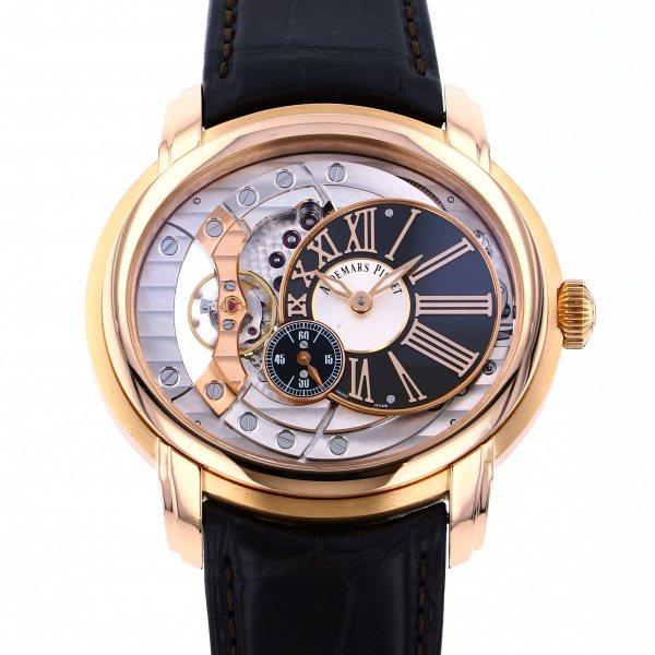 オーデマ・ピゲ AUDEMARS PIGUET ミレネリー 4101 15350OR.OO.D093CR.01 グレー/シルバー文字盤 メンズ 腕時計 【中古】