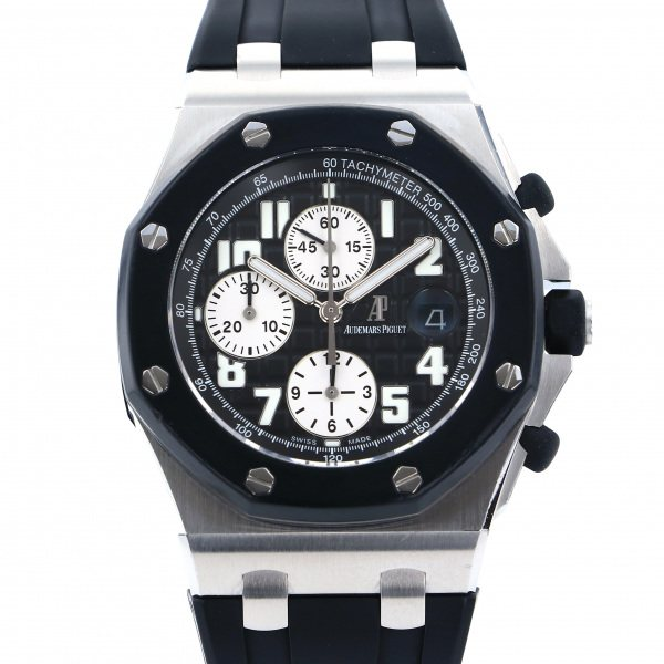 オーデマ・ピゲ AUDEMARS PIGUET ロイヤルオークオフショア クロノグラフ 25940SK.OO.D002CA.01 ブラック/シルバー文字盤 メンズ 腕時計 【中古】