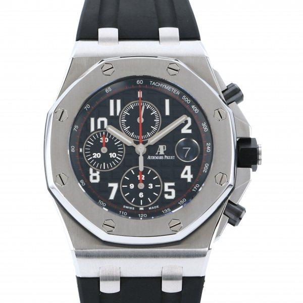 オーデマ・ピゲ AUDEMARS PIGUET ロイヤルオークオフショア クロノグラフ 26470ST.OO.A101CR.01 ブラック文字盤 メンズ 腕時計 【中古】