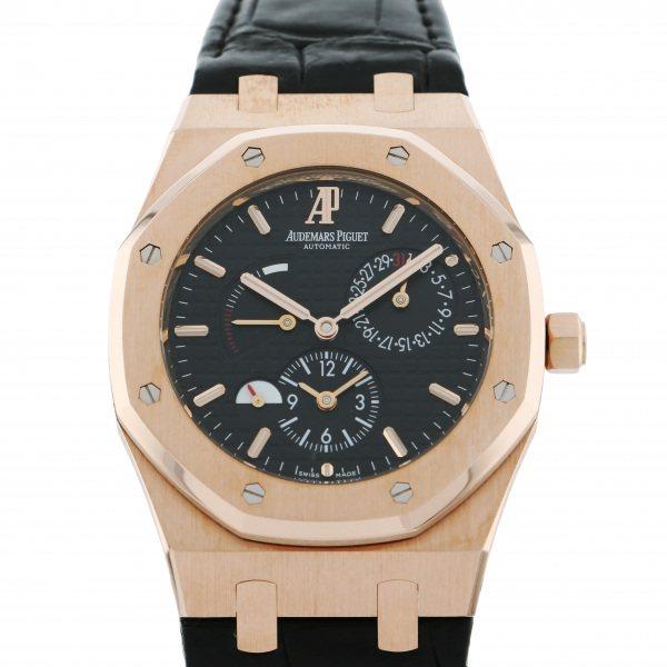オーデマ・ピゲ AUDEMARS PIGUET ロイヤルオーク デュアルタイム 26120OR.OO.D002CR.01 ブラック文字盤 メンズ 腕時計 【中古】