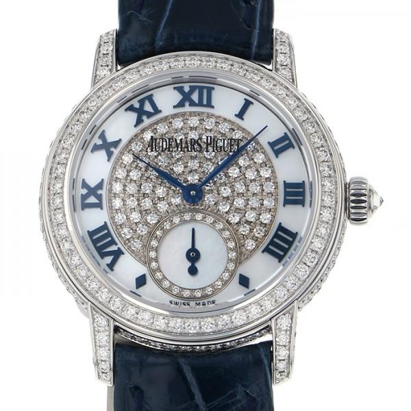 オーデマ・ピゲ AUDEMARS PIGUET ジュールオーデマ 77229BC.ZZ.A025MR.01 ホワイト文字盤 レディース 腕時計 【新品】