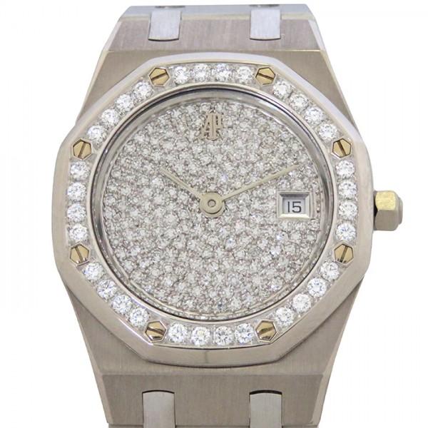 オーデマ・ピゲ AUDEMARS PIGUET ロイヤルオーク - 全面ダイヤ文字盤 メンズ 腕時計 【中古】