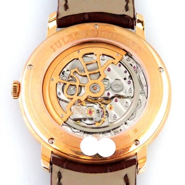 オーデマ・ピゲ AUDEMARS PIGUET ジュールオーデマ エクストラシン  15180OR.OO.A088CR.01 シルバー文字盤 メンズ 腕時計 【新品】