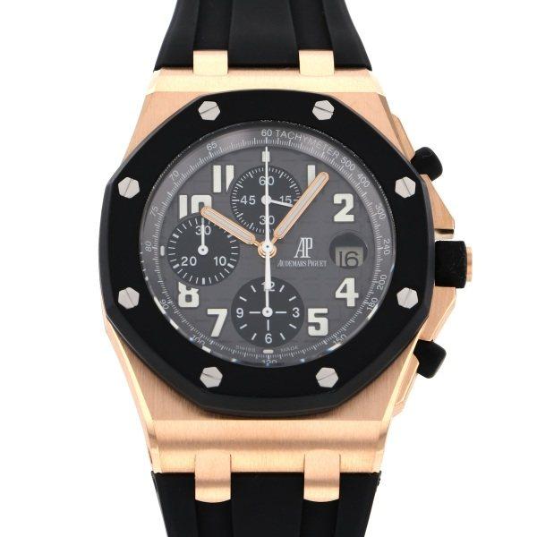オーデマ・ピゲ AUDEMARS PIGUET ロイヤルオークオフショア クロノグラフ 25940OK.OO.D002CA.01 グレー/ブラック文字盤 メンズ 腕時計 【中古】
