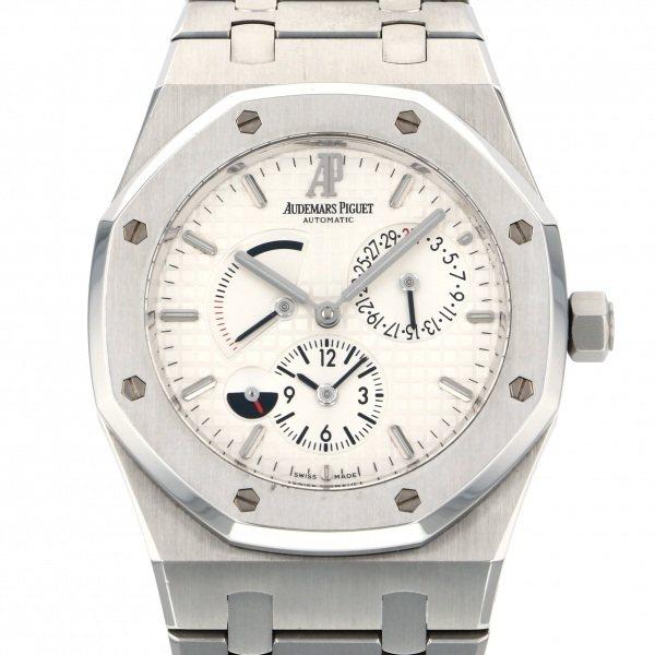 オーデマ・ピゲ AUDEMARS PIGUET ロイヤルオーク デュアルタイム 26120ST.OO.1220ST.01 ホワイト文字盤 メンズ 腕時計 【中古】